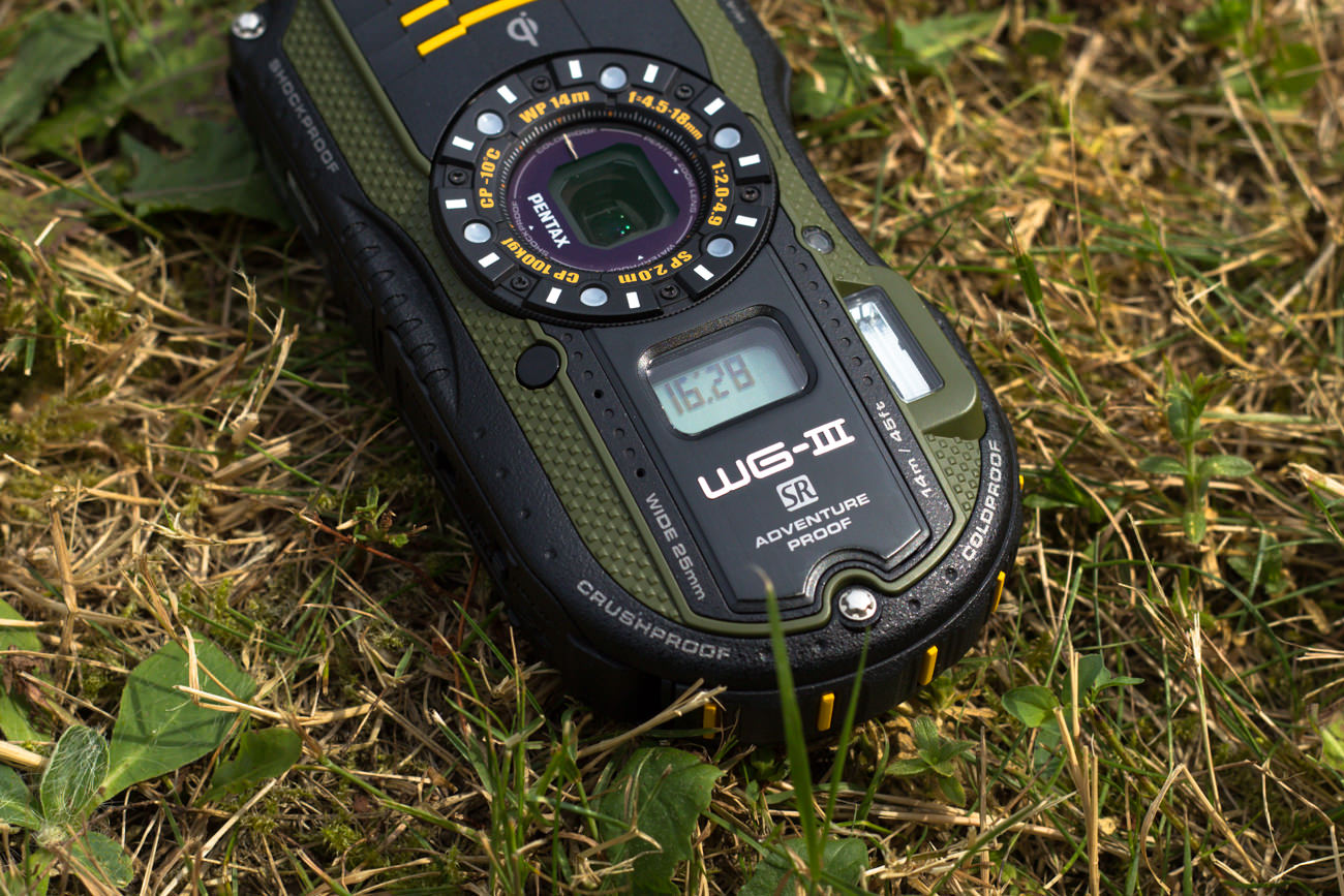 Optio WG-3 GPS