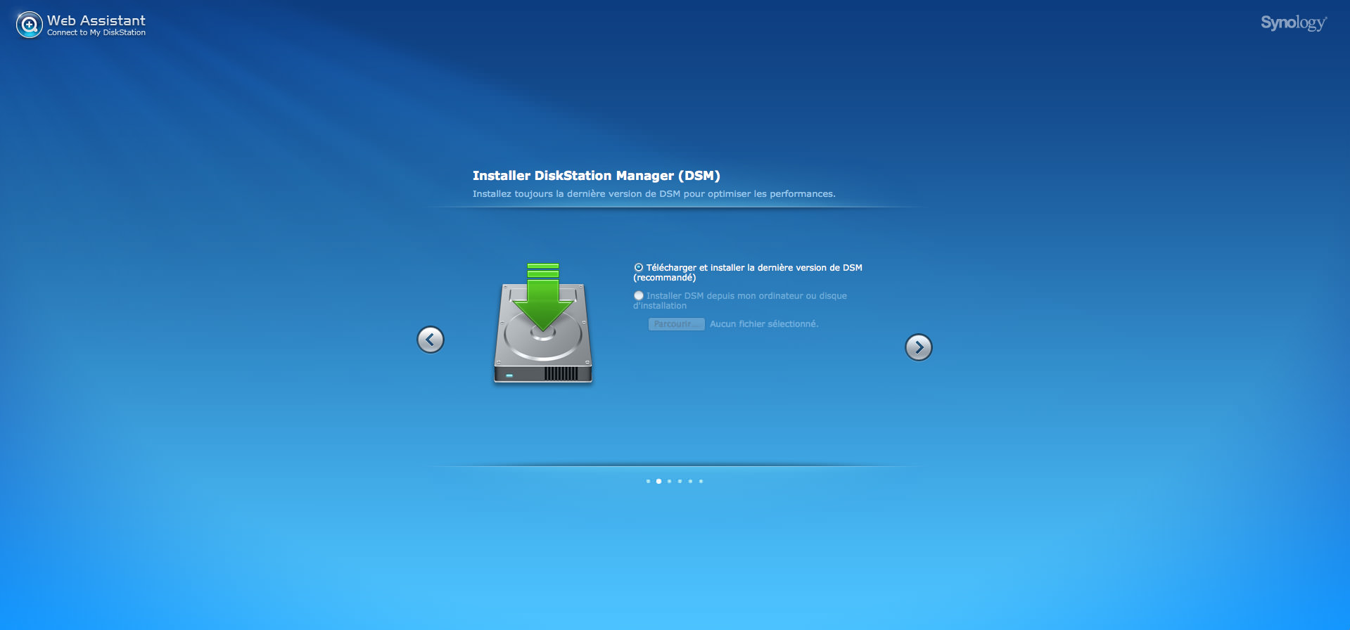 test Synology DS213air